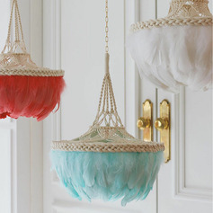 Elegant Polyester Feather Home Décor (Sold in a single piece)