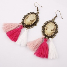 Alloy Resin Fashion Earrings (Set of 2)