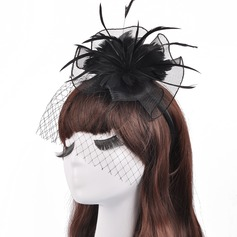 Ladies' Beautiful/Gorgeous/Fashion/Special Cambric With Tulle Fascinators