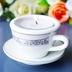 Elegant Ceramic Candle Holder