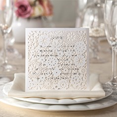Personlig Blommig Stil Wrap & Pocket Invitation Cards (Sats om 50)