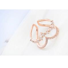 Exquisiten Zirkon Damen Mode Ringe