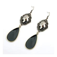 Elegant Alloy/Resin Ladies' Earrings