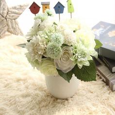 Design de fleur Gentil/Charmant Fleur en soie Fleurs artificielles