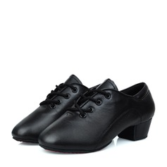 Kids' Leatherette Practice Dance Shoes