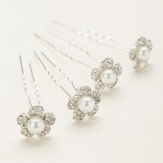 Special Crystal/Alloy/Austrian Crystal Hairpins (Set of 4)