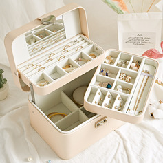- Fascinating Delicate Pu Jewelry Box Jewelry Holder (255228573)