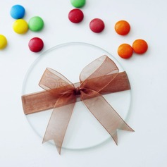 Simple Round Glass Creative Gifts With Ribbons