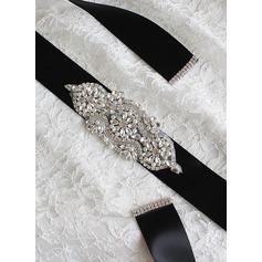 Hermoso Cintas Fajas con Diamantes de imitación/La perla de faux