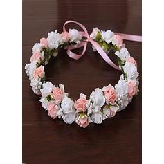 Pe With Flower Flower Headband