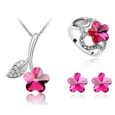 Exquisite Liga com Imitação de cristal Senhoras Conjuntos de jóias