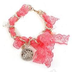 Beautiful Alloy/Lace Ladies' Bracelets