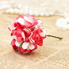 "2""(5cm) Bonito Flores Artificiais (conjunto de 4)"