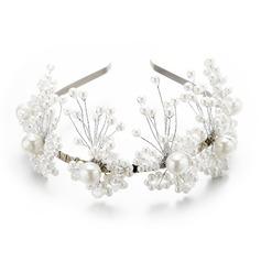 Damer Mote Imitert Perle Pannebånd med Venetianske Perle (Selges i ett stykke)