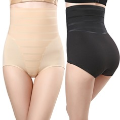 Women Feminine/Sexy Chinlon/Nylon Breathability/Butt Lift High Waist Panty Shapers Shapewear