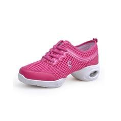 Женщины Ткань Танцевальные кроссовки Практика Обувь для танцев