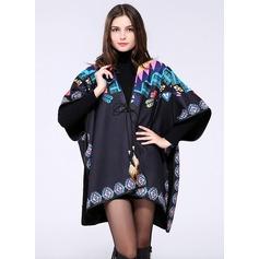 Polyester Spandex Kleur Mode Sjaal