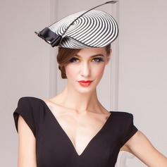 Mode/Elegant Papyrus Fascinators/Kentucky Derby Hats/Theepartij hoeden (196122673)