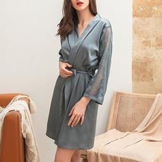 Feminin Flickaktigt Napodobnil Silk Nattkläder
