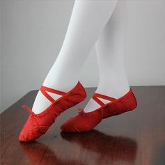 Детская обувь Холст На плокой подошве Балет Обувь для танцев