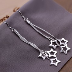 Silver Plated Ladies' Fashion Earrings