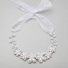 Elegant Alloy/Imitation Pearls Necklaces