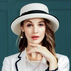 Señoras' Encanto poliéster Disquete Sombrero