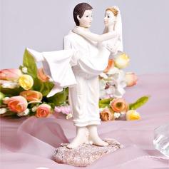 """""""Doce Momento"""" Resina Casamento Decorações de bolos"""