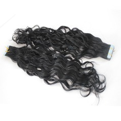 4A Nicht remy Wasserwelle Menschliches Haar Tape in Haarverlängerungen 40pcs 100g