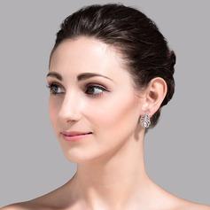 Gorgeous Koppar/Zirkon/Platina Damer' örhängen