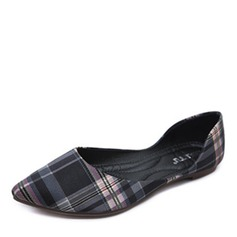 Donna Tessuto Senza tacco Ballerine Punta chiusa scarpe