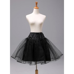 Girls Polyester 2 Tiers Petticoats
