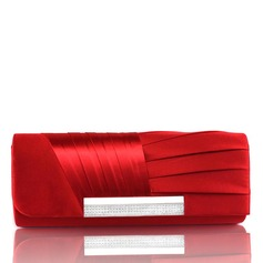 Gorgeous Satin Clutches (012005535)