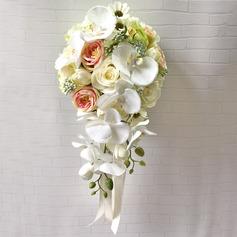 Cascata Buquês de noiva (Vendido em uma única peça) -