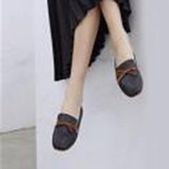 Donna PU Tacco basso Ballerine Mary Jane أحذية