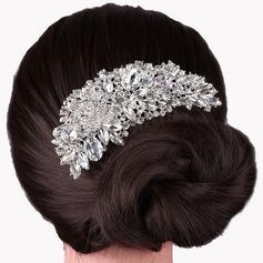 Abbigliamento donna Bella Strass/lega Pettine & clip di capelli con Strass