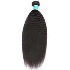 5A Jungfrau / Remy Verworrene gerade Menschliches Haar Geflecht aus Menschenhaar (Einzelstück verkauft) 100g