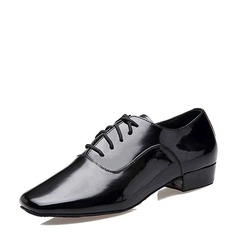 Men's Leatherette Latin Practice Dance Shoes