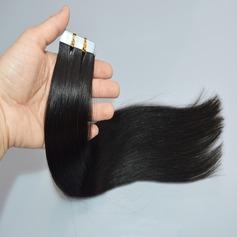 4A Nicht remy Gerade Menschliches Haar Tape in Haarverlängerungen 10PCS 50g