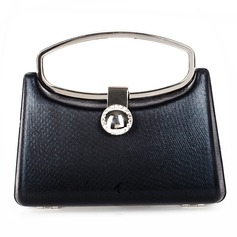 Elegant Metall/PU Wristlet Taschen