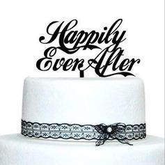 Lettre Acrylique Mariage Décoration pour gâteaux