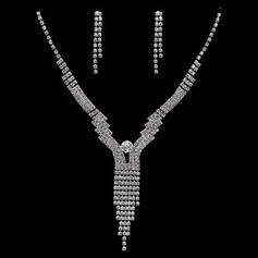 Gorgeous Legering/Kristall Damer' Smycken Sets