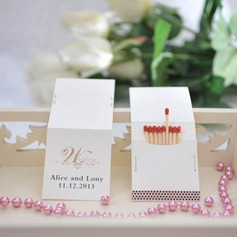 Personalized Hard Card Paper Matchboxes  (118031589)