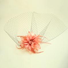 Damen Schöne Net Garn/Seide Blumen Stirn Schmuck