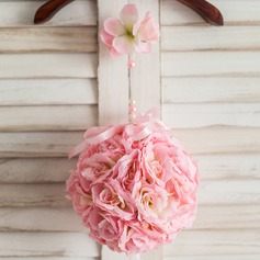 Elegant Round Wedding Pomander
