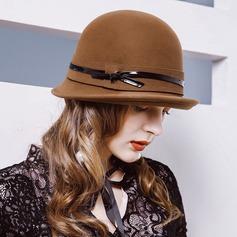 Damer' Mode/Söt/Charmen Ull Diskett Hat