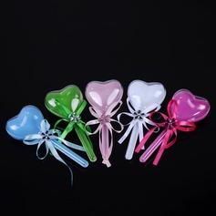 Bella/Stile Cuore A forma di cuore Plastica Barattoli e Bottiglie con Nastri