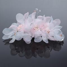 Charme Tulle Fleurs et plumes