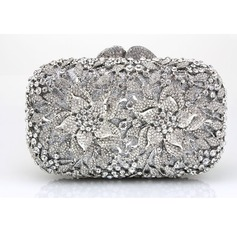 Charming Satin/Acrylic Clutches/Wristlets