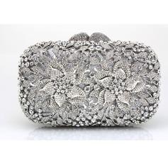 Anhänger Satin/Acryl Handtaschen/Wristlet Taschen